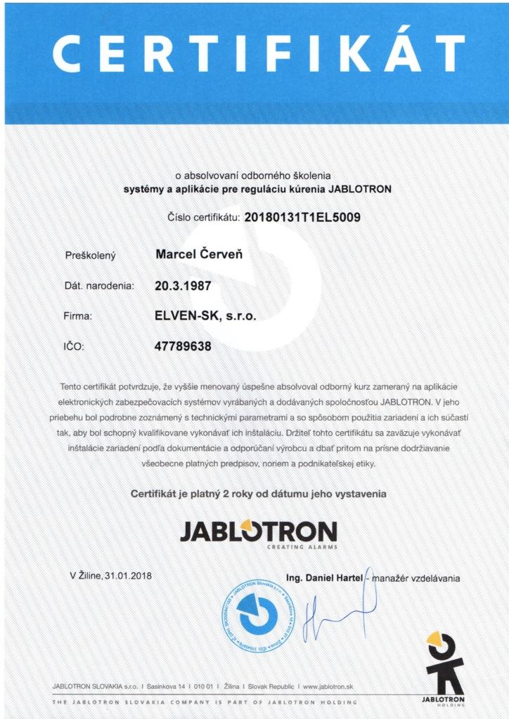 Systémy a aplikácie pre reguláciu kúrenia Jablotron